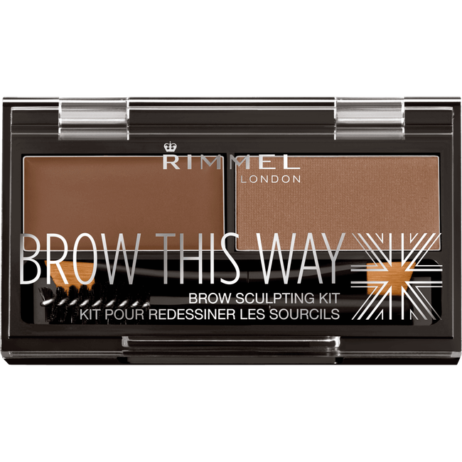Rimmel London Brow This Way Eyebrow Kit - 002 Brown