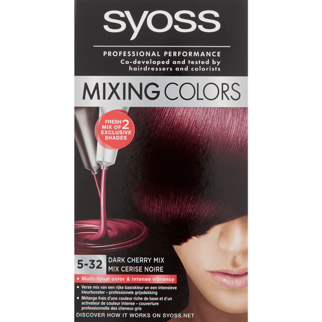 Syoss Mixing Colors Haarverf 5-32 Dark Cherry Mix