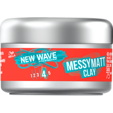 Wella New Wave Messy Matt Clay