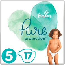 Pampers Pure Protection Maat 5 (11+kg) 17 Luiers