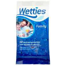 Wetties Family Verfrissingsdoekjes