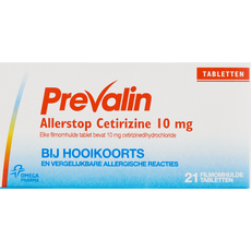 Prevalin Allerstop Hooikoorts Tabletten 10 mg