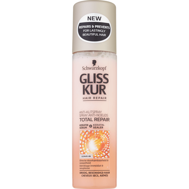 Schwarzkopf Gliss Kur Total Repair Anti-Klit Spray