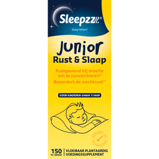 Sleepzz Junior Rust- en Slaapsiroop 150 ML