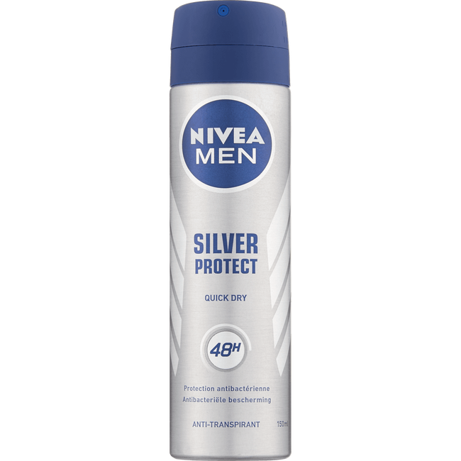 NIVEA MEN Silver Protect Dynamic Power Deodorant Spray