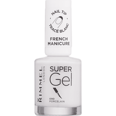 Rimmel London Super Gel French Manicure Nail Tip Whitener - 090 Transparant