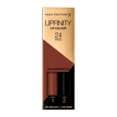 Max Factor Lipfinity Lip Colour Lipstick 200 Caffeinated