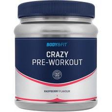 Body&Fit Crazy Pre Workout Raspberry 407G
