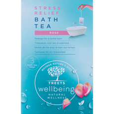 Treets Wellbeing Bath Tea Stress Relief