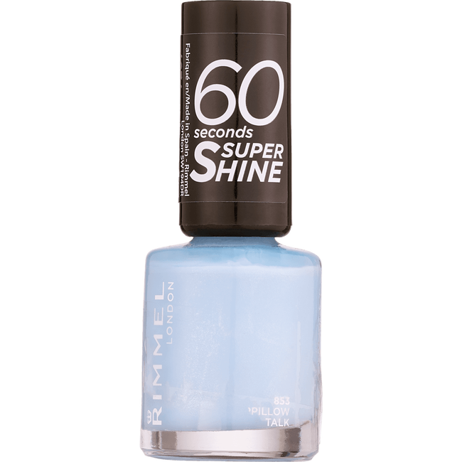 Rimmel London 60 Seconds Supershine Nailpolish -853 Pillow Talk