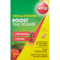 Roter Vitamine C 1000 mg Boost Time Release Tabletten