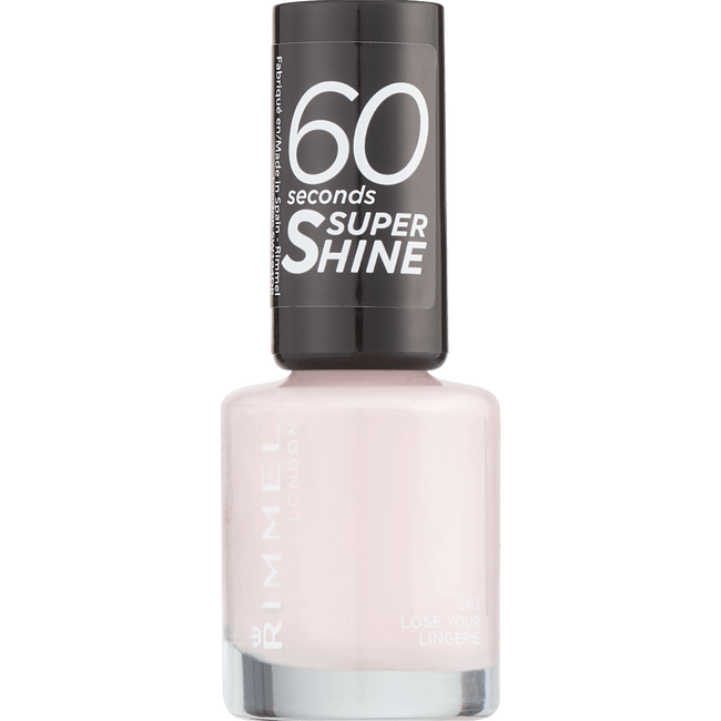 Rimmel London 60 Seconds Supershine Nailpolish - 203 Lose Your Lingerie