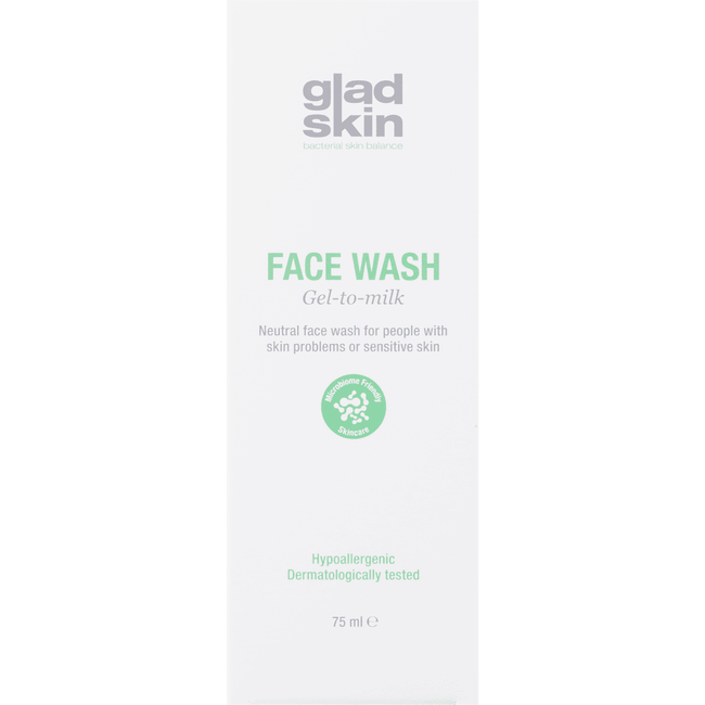Gladskin Face Wash Gel To Milk