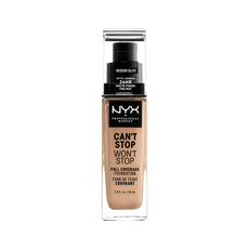 NYX Professional Makeup Can't Stop Won't Stop Foundation Medium Olive CSWSF09