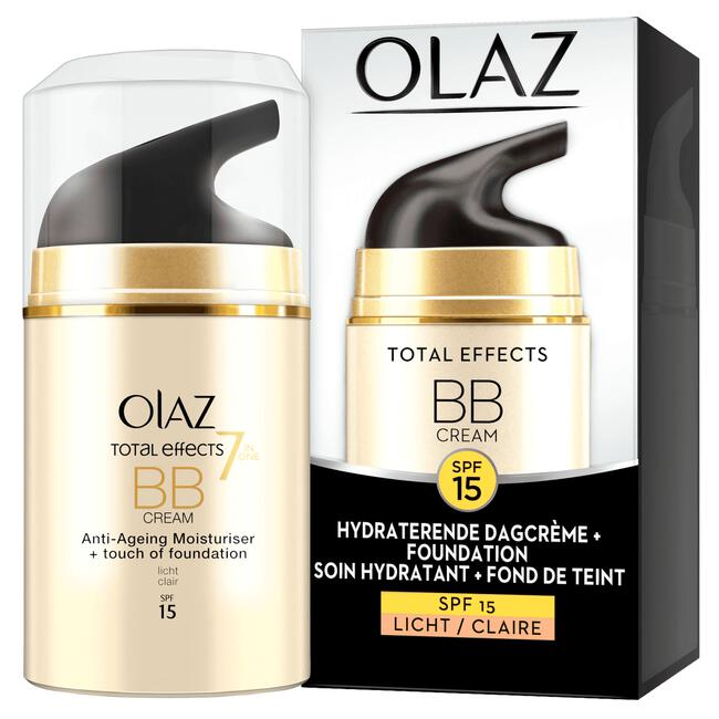 Olay/Olaz Total Effects 7-in-1 BB Crème SPF15 Lichte Huidtint 50 ML