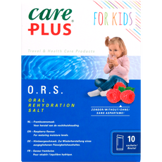 Care Plus For Kids O.R.S. Sachets Framboos