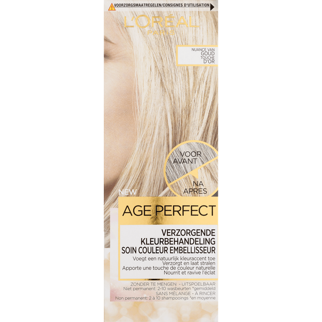 L'Oréal Paris Age Perfect Color Age Perfect Verzorgende Kleurbehandeling - Nuance Van Goud