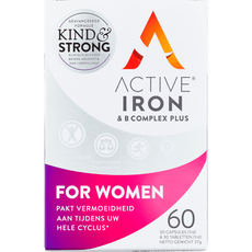 ActiveIron IJzersupplement En B-Complex Vrouwen 17MG
