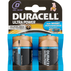 Duracell Ultra Power Duralock Batterijen D/LR20