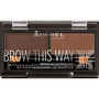 Rimmel London Brow This Way Eyebrow Kit - 003 Brown