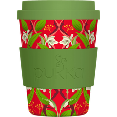 Pukka Bamboo To Go Cup - Rood & Groen