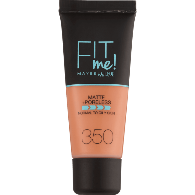 Maybelline Fit me Matte + Poreless Foundation 350 Caramel