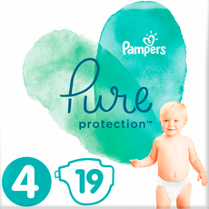Pampers Pure Protection Luiers 4