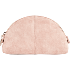 Make-Up Bag Pink Half Round