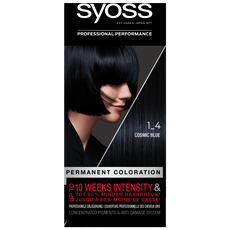 Syoss Salonplex Permanent Coloration 1-4 Cosmic Blue