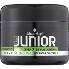 Schwarzkopf Junior Power Styling Style Control Shine Wax