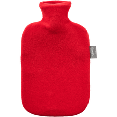 Fashy Warmwaterkruik Fleece Cover Red