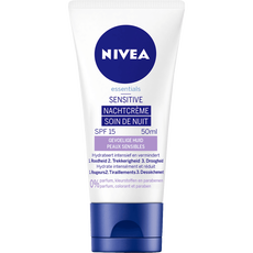 NIVEA Essentials <25 Sensitive Nachtcrème - Gevoelige huid