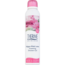Therme Saigon Pink Lotus Foaming Shower Gel