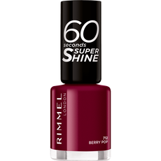 Rimmel London 60 Seconds Supershine Nailpolish - 712 Berry Pop