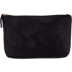Etos Make-Up Bag Suede Black