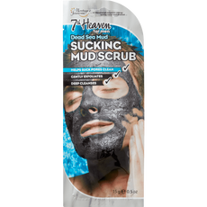 7th Heaven Men's Dead Sea Sucking Mud Scrub
