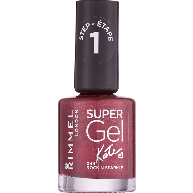 Rimmel London Super Gel Nailpolish - 044 Rock N Sparkle