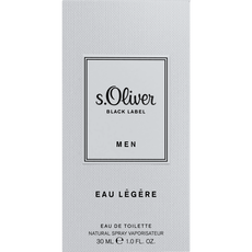 s.Oliver Black Label Men Eay Legere Eau De Toilette