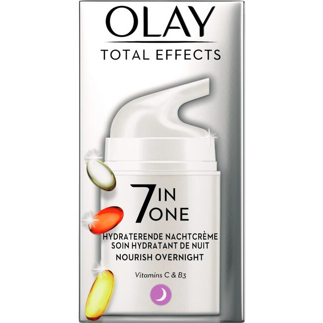 Olay Total Effects 7in1 Verstevigende Nachtcrème 50 ml