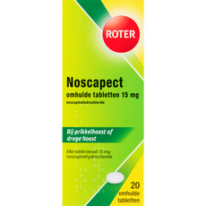Roter Noscapect 15 mg Hoesttabletten
