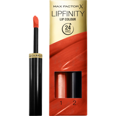 Max Factor Lipfinity Lip Colour 2-Step Long Lasting Lipstick - 140 Charming