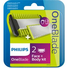 Philips OneBlade Face + Bodykit QP620/50 - Vervangmesjes