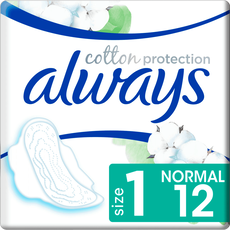 Always Cotton Protection Ultra Maandverband Met Vleugels Normal