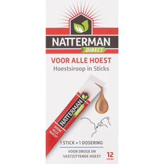 Natterman Direct Voor Alle Hoest Liquid Sticks