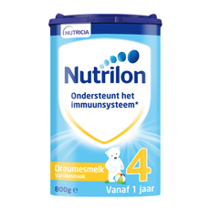 Nutrilon Vanillesmaak Dreumesmelk 4