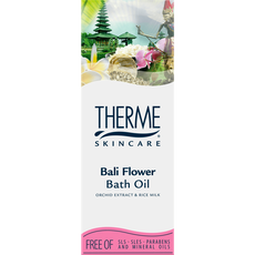 Therme Bali Flower Orchid Extract & Rice Milk Bath Oil