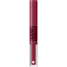 NYX PMU Shine Loud Pro Pigment Lip Shine - SHLP19 Never Basic - Lipgloss - 3.4 ml