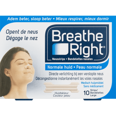 Breathe Right Normale Huid Neusstrips Large