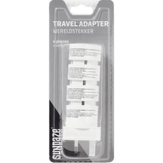 Sundaze - Travel Adapter - 4-part - White