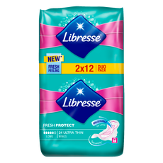 Libresse Ultra Thin Maandverband Duo 12 Long